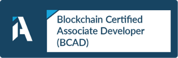 Blockchain Certified Associate Developer (BCAD)